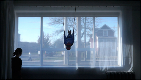 Anna Vasof, Travel to the Window, video still, 2015